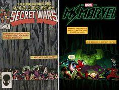 "Ms. Marvel (2014) #9 Incentive Paul Renaud ""Deadpool 75th Anniversary Photobomb"" Variant"