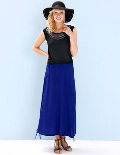 Jupe mit Raffbändchen Band, Dresses For Work, Skirts, Fashion, Moda, Sash, Fashion Styles, Ribbon, Skirt
