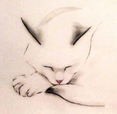 Cat drawing. Artist?