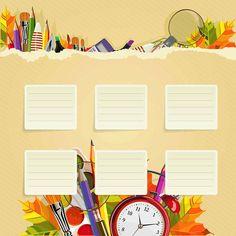School Schedule Wallpaper