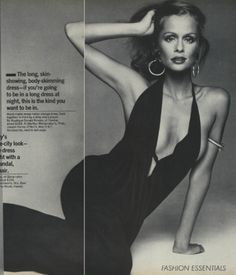 Lauren Hutton Vogue circa 1973