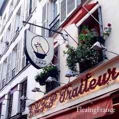 This little piggy went to market....in Paris.  Smart piggy.  #FleaingFrance #Paris #France #travel #market