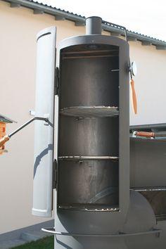 Bbq Grill Diy, Bbq Diy, Barbecue, Metal Projects, Welding Projects, Bar B Que Grills, Custom Bbq Smokers, Smoker Designs, Bbq Pit Smoker
