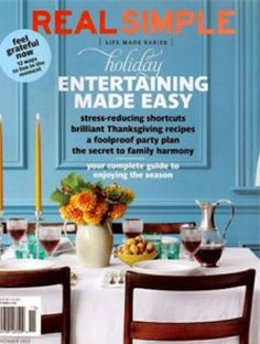 real simple 2015 covers | Found on  - paneled wall & color!!!---pineapplepetespassion.blogspot.com