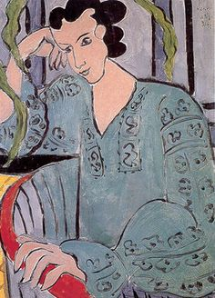 matisse, the romanian green blues, 1939