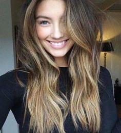 Regular Balayge Hair Color