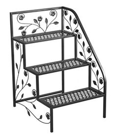 Another great find on #zulily! Right Corner Plant Stand #zulilyfinds