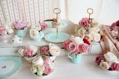 teacups, bridal shower ideas