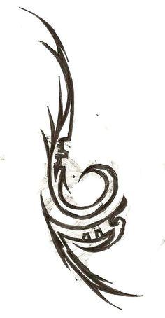 Naruto Tribal Anbu tattoo design idea