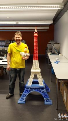 Eiffel Tower bigger than me #eiffeltower #eiffelturm #ultimaker #3dp #3dprinting #3ddrucken