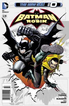 ScienceFiction.com Comic Book Review: 'Batman And Robin' #0