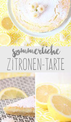 Tulpentag:Luftige Zitronen-Tarte #sommer #backen #rezept