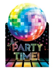Image result for disco party  sc 1 st  Pinterest & 4.52 GBP - 70\u0027s 1970\u0027s Disco Fever Paper Plates Birthday Party ...