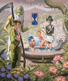 Merry Karnowsky Gallery in Los Angeles, California is hosting Neverlasting Miracles, a solo art exhibition by pop surrealist Todd Schorr. The show opened March 17, 2012 and will run through April 14, 2012.
