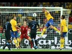 England 3 Sweden 2 in 2012 in Kiev. Olof Mellberg jumps to head Sweden into the lead on 53 minutes in Group D at Euro 2012. 2-1 Sweden.