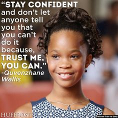 Quvenzhane Wallis is wise beyond her years.