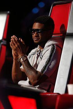 Usher #TeamUsher #TheVoice