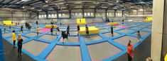 AirHop Trampoline Park in Bristol - Birthday Party Review