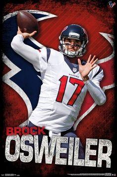 Houston Texans - Brock Osweiler 16 Poster Print by (22 x 34) - Item    TIARP15225 231ef47d5