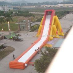 Hot sale commercial giant inflatable water slide for adult