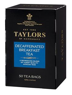 Taylors of Harrogate Pure Assam Tea, 50 Count Tea Bags Product Features Made with natural Assam tea^High in antioxidants; each English-style (tagless) teabag contains grams of tea^Rich and full-bodied with a distinct, slightly malty flavor^Tea . Irish Breakfast Tea, Breakfast Time, Lapsang Souchong Tea, Darjeeling Tea, Coffee Store, Earl Grey Tea, Tea Blends, Taylors, Pure Products