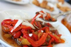 ¡DELICIOSA #ensalada de pimientos asados! #recipes