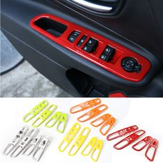 Find More Stickers Information about New Style Creative ABS Car Windows Lift…