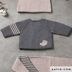 instructions knitting crochet baby sweater autumn winter katia 6038 15 g - knitting . pattern knitting crochet baby sweater autumn winter katia 6038 15 g – knitting – Baby Knitting Patterns, Baby Boy Knitting, Baby Cardigan Knitting Pattern, Knitting For Kids, Baby Patterns, Baby Sweater Patterns, Baby Knits, Free Knitting, Crochet Baby