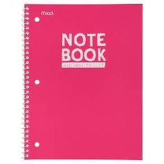 Mead College Ruled 70 Sheets Poly Notebook : Target