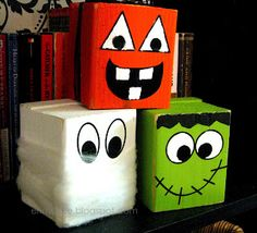 Three fun and easy Halloween crafts to brighten the spookiness!