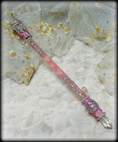 Fairy Pentacle Magic Wand with Rose Quartz ,wiccan altar tools