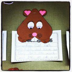 Miss Kindergarten: Groundhog Day Kindergarten Groundhog Day, Groundhog Day Activities, Miss Kindergarten, Kindergarten Writing, Kindergarten Activities, Preschool Crafts, Preschool Winter, Teaching Writing, Preschool Ideas