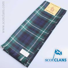 wool scarf in Graham of Montrose modern tartan  - available from ScotClans