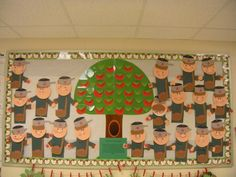 Johnny Appleseed Bulletin Board