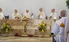 P. Javier Arteaga - P.Francisco Pistilli - P. Benjamín Pereira - P. Antonio Cosp - P. Juan Pablo Catoggio