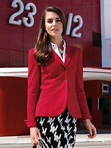 Uta Raasch - Jersey-Blazer mit Reverskragen