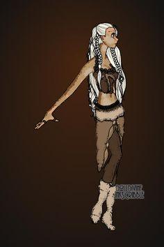 Khaleesi by Ronnie ~ Inkscribble Dress Up