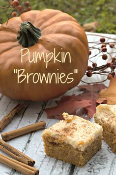 "Pumpkin ""Brownies"""