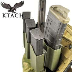 "Ktach's ""Scooters Custom Rig"" SCR  5 UP #kydex #mag carrier #ar15 #glock combo #magcarrier"