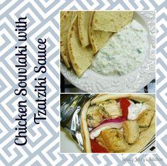My Big Fat Greek Recipe Collection - Chicken Souvlaki with Tzatziki Sauce Tzatziki Chicken, Tzatziki Sauce, Eat Greek, Chicken Souvlaki, Cooking Recipes, Healthy Recipes, Yummy Recipes, Greek Cooking, Mediterranean Dishes