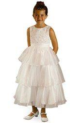 5de017d5336 Us Angels Satin   Tulle Dress (Toddler Girls
