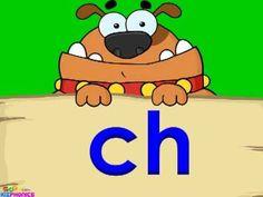 Beginning Digraph CH , Consonant Digraph ch