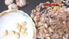 ১ মিনিটে ১ কেজি রসুন পরিস্কার করার কৌশল। Garlic Clean Tips. Salmin Recipes, Garlic, Stuffed Mushrooms, Cleaning, Make It Yourself, Vegetables, Food, Stuff Mushrooms, Essen