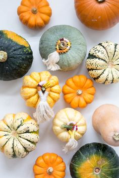 It's that time of year to have a little bit of fun with vegetables! Make these DIY Pumpkin Top Tassels for some fall/halloween fun!