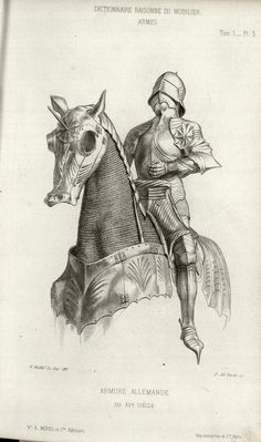 All sizes | 15th century horse and rider armour | Flickr - Photo Sharing!