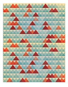 Abstract poster Retro poster Geometric poster by angelaferrara