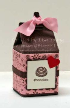 Add Ink and Stamp: Chocolate is a Good Choice