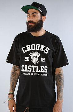 The Primetime Tee in Black by #CrooksandCastles $36 @Karmaloop
