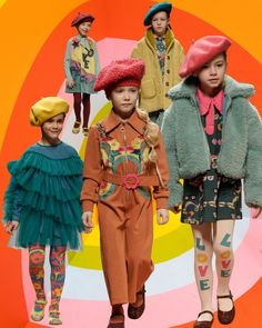 Cute Girl Outfits, Cute Outfits For Kids, Girls Fashion Clothes, Little Girl Fashion, Kids Winter Fashion, Kids Fashion, Baby Kids Wear, Junior Fashion, Sixties Fashion