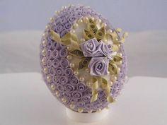 lovely quilled egg
